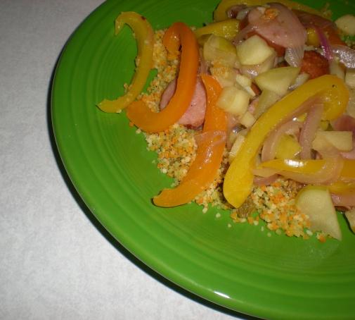 pepper-couscous